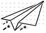 bb papierflieger